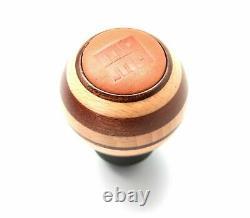 MOMO Targa Heritage Mahogany Leather / Wood Shift Knob Special Edition Genuine