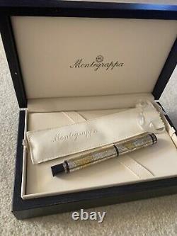MONTEGRAPPA Gea 2001 Limited Annual Edition Fountain Pen 1684/2001 24k gold foil