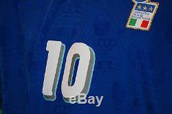 Maglia Baggio diadora ITALIA 1994 USA 94 world cup mondiale PLAYER VERSION M