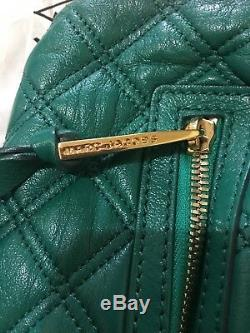 Marc Jacobs Quilted Little Stam Resort 2013 Limited Edition-Emerald