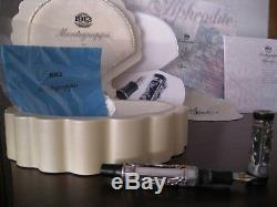 Montegrappa Aphrodite, F. Pen New, Bnib, Limited Edition Mother Of Pearl, Bnib
