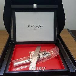 Montegrappa Ayrton Senna Limited Edition Silver Fountain Pen 18K F Nib (NIB)