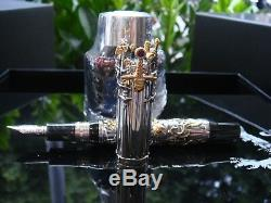 Montegrappa Game of Thrones Limited Edition Iron Throne Silver Fountain Pen