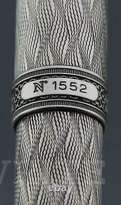 NEW! FOUNTAIN PEN AURORA LIMITED EDITION 80 th ANNIVERSARY 1552/1919 NIB M