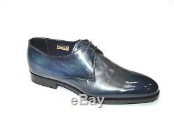 NEW SANTONI Dress LIMITED EDITION Leather Shoes Sz Eu 42 Uk 8 Us 9 Led100
