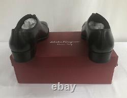 NIB Salvatore Ferragamo Tramezza Gennaro Tricolor Limited Edition Shoes Sz 8.5EE