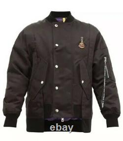 NWT Authentic Limited Edition Moncler x Palm Angels Genius 8 Axl Bomber Jacket