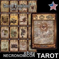 Necronomicon tarot + eBook +Plan rare limited edition handmade lovercraft occult