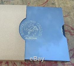 New Aurora Benvenuto Cellini Limited Edition Fountain Pen Medium 18k Nib