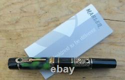 New Marlen La Vite Limited Edition #369 Fountain Pen MEDIUM 14K Nib Key Filler