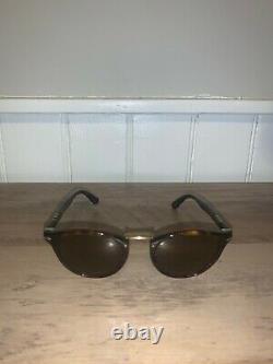 New Persol Havana Typewriter Edition Men's Sunglasses