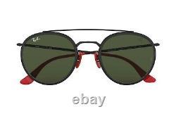 New Rayban Sunglasses 3647m Black/green G-15 F02831 Ferrari Limited Edition
