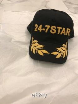 New SnapBack DSQUARED HAT 24/7 star embroidery. Exclusive edition