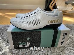Nimbl Air Limited Edition Gold Handmade Cycling Shoes