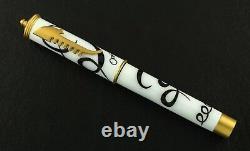 Omas Emozioni Di Carnevale Limited Edition Fountain Pen Fine 18k Gold Nib