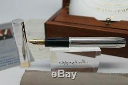 Omas Limited Edition Marconi 95 Qsl Sterling Silver 925 Version