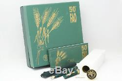 Omas Paragon FAO 50th Anniversary Limited Edition Fountain Pen 18C M Nib Box