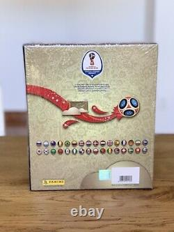 PANINI RUSSIA 2018 WORLD CUP GOLD EDITION + UPDATE SET + LEGENDS Mbappe ROOKIE