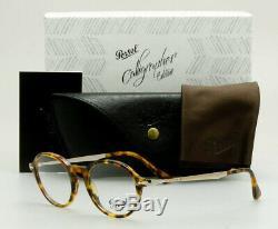 PERSOL RX Eyeglass Calligrapher Edition Frame PO3180V 1052 Light Tortoise 48mm