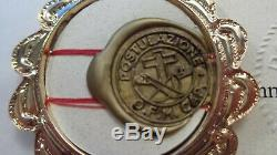 Padre Pio Panno with Certificate reliquary relic 1st class relic limited edition