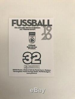 Panini Erling Haaland Bundesliga 2019/20 rookie sticker white edition