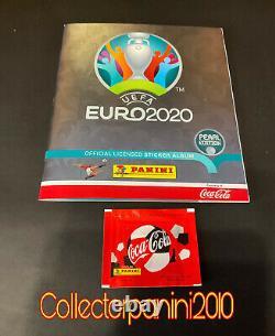 Panini Euro 2020 Empty Album Versione Coca Cola Pearl Swiss Edition +packet