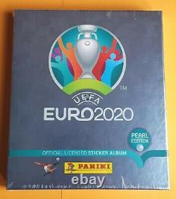 Panini Euro 2020 Swiss Pearl Edition Limited Collectors Box