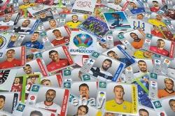 Panini Euro 2020 Swiss Pearl Edition Sticker Box with 100 Packs