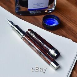Pineider La Grande Bellezza Arco Oak Limited Edition Fountain Pen