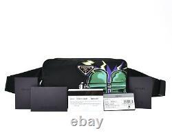 Prada Belt Bag Frankenstein Heart Limited Edition Funny Pack Black Nylon New