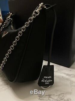 Prada Nylon Bag Crossbody Purse 2005 Re Edition 100% New 100% Authentic