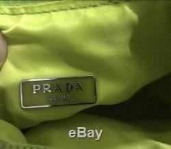 Prada Re-edition 2000 Nylon Mini Bag. Color Begonia / Pink. Style# 1ne515