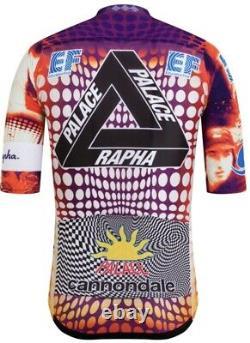 RAPHA + PALACE EF Pro Team Aero Jersey Mens Size M Giro d'Italia Limited Edition