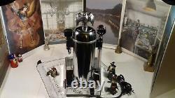 RARE Zacconi Riviera SPRING chrome italy lever espresso machine Re-Edition