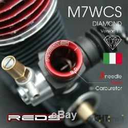 REDS RACING M7 World Cup S DIAMOND Version 1.1 1/8 on-road engine (ENPS0006)