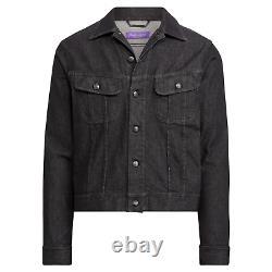 Ralph Lauren Purple Label Limited Edition Signature Denim Trucker Jacket $895