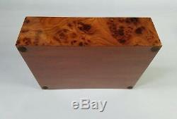 Ralph Lauren Rare Italian Luxury Limited Edition Brown Barnard Burlwood Box