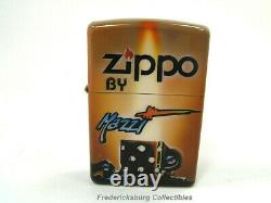 Rare 2013 Mazzi Air Brushed Lighter Zippo By Mazzi Limited Edition #25 Of 30