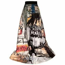 Rare Nwt, Alice & Olivia Basquiat Limited Edition, Meryl Skirt, 6