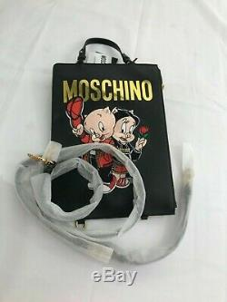 SPECIAL EDITION! Moschino Couture Jeremy Scott Porky Pig Petunia Pig Backpack