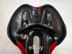 Selle italia SLR team edition NEW Carbon carbonio BLACK RED NUOVA con scarico