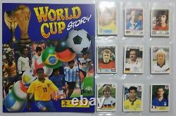 Set Completo World Cup Story PANINI Version 262 Stickers