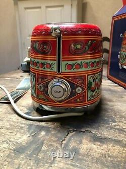 Smeg Dolce & Gabbana Sicily is my Love toaster limited edition unused with box