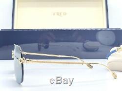 Sunglasses & Bracelet Fred FG40001U Solid Gold 18K Lim Edition 66 Pieces Cartier