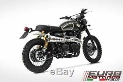 Triumph Scrambler Till 2016 Zard Exhaust Full System Special Edition Silencer