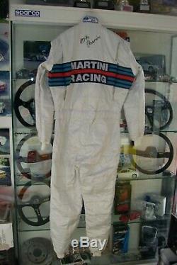 Tuta Rally Lancia Martini Racing Miki Biasion Sparco Limited Edition Omologata