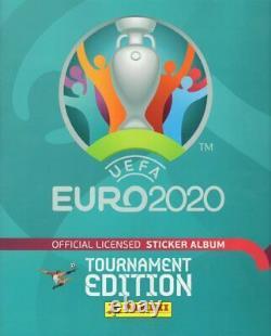 UEFA EURO 2020 TOURNAMENT EDITION Compete set 654 + empty album, Blue editiona