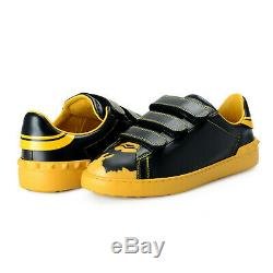 Valentino Garavani Men's Limited Edition Super H Batman Sneakers Shoes