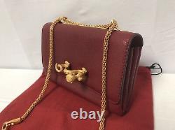 Valentino Va Va Voom Animalier Leather Shoulder Bag $2995.00 Special Edition