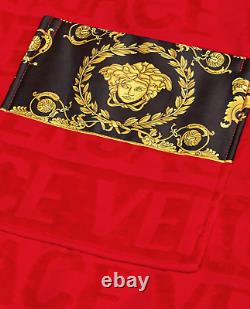 Versace Red/Gold I BAROQUE BATHROBE Limited Edition 4XL Not Available Online
